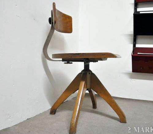 Bureaustoel 50 Euro.Ama Elastic Bureaustoel Jaren 50 Gevonden Op Marktplaats
